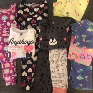 Carter's 14 Piece Pajama Set Bundle